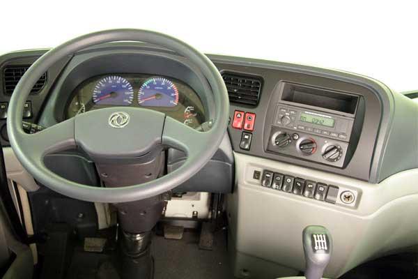 داخل اتاق کامیون دانگ فنگ D270 محصول سایپا دیزل