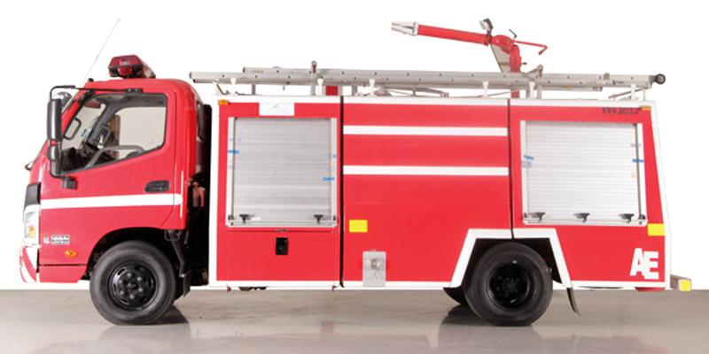 ماشین آتش نشانی الوند محصول سایپا دیزل