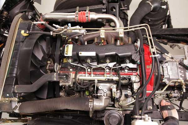 موتور کامیون الوند محصول سایپا دیزل